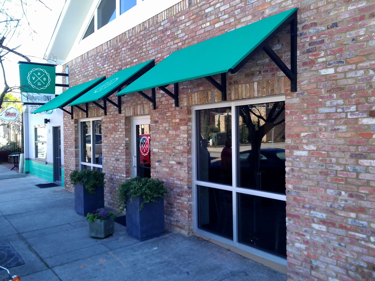 custom awnings for business and residential